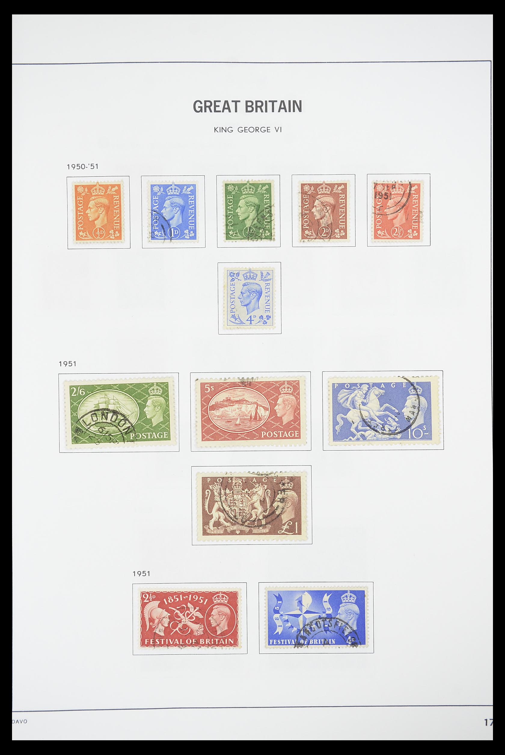 33898 016 - Stamp collection 33898 Great Britain 1840-2006.