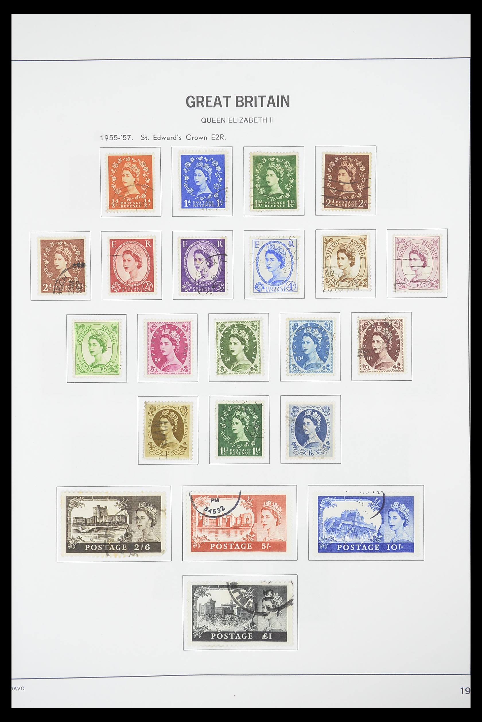 33898 018 - Stamp collection 33898 Great Britain 1840-2006.