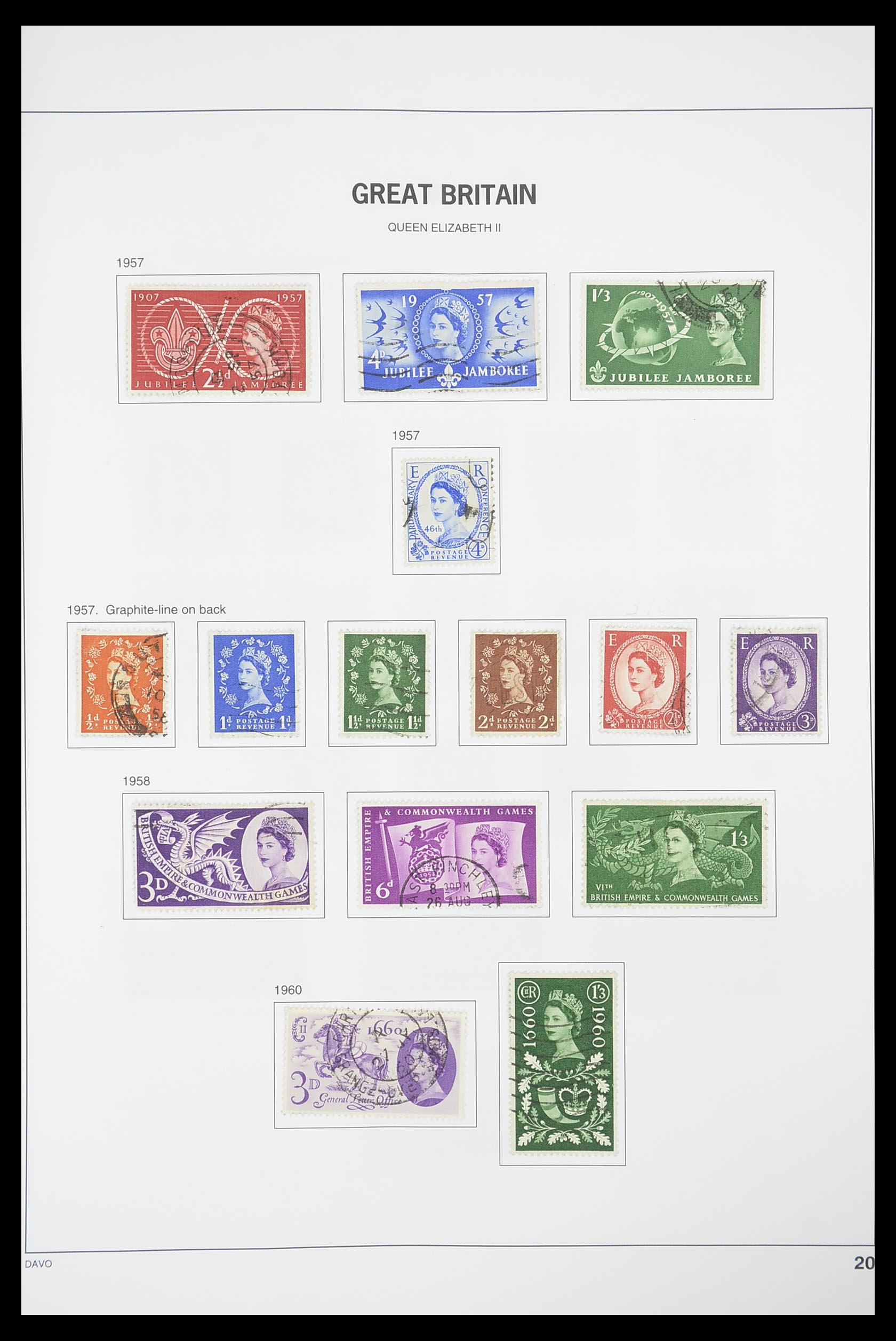 33898 019 - Stamp collection 33898 Great Britain 1840-2006.