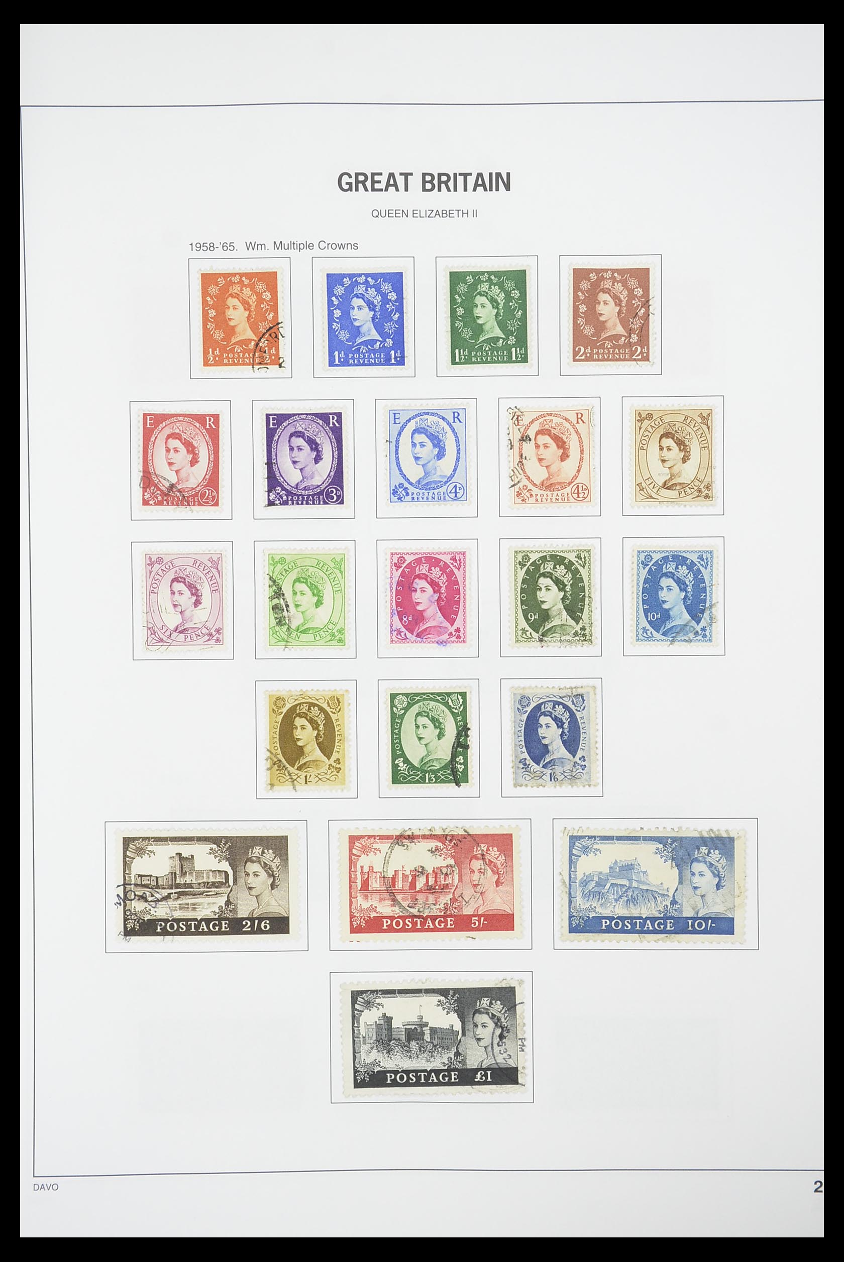 33898 020 - Stamp collection 33898 Great Britain 1840-2006.