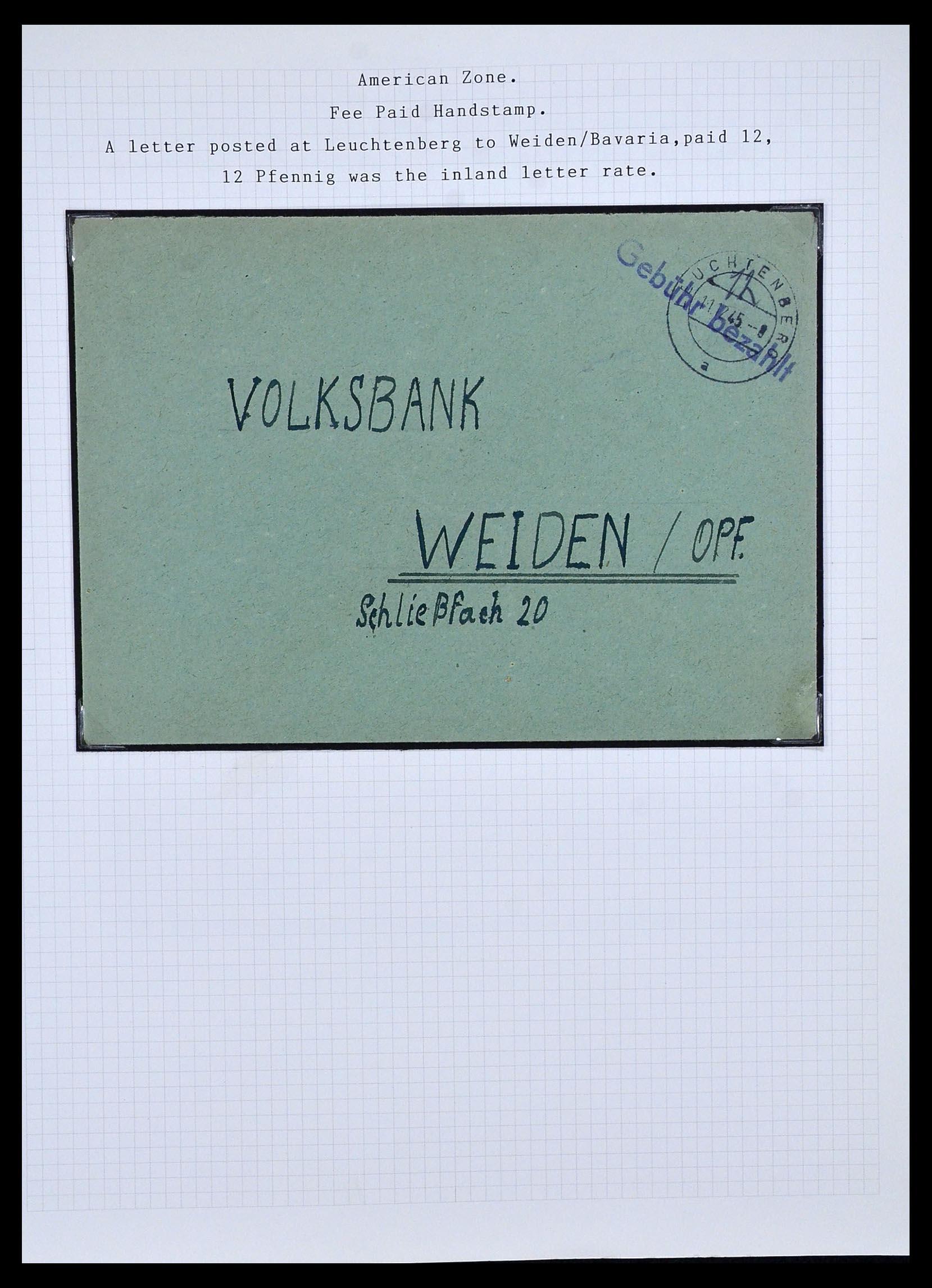 34032 002 - Postzegelverzameling 34032 Duitse Zones 1945-1948.