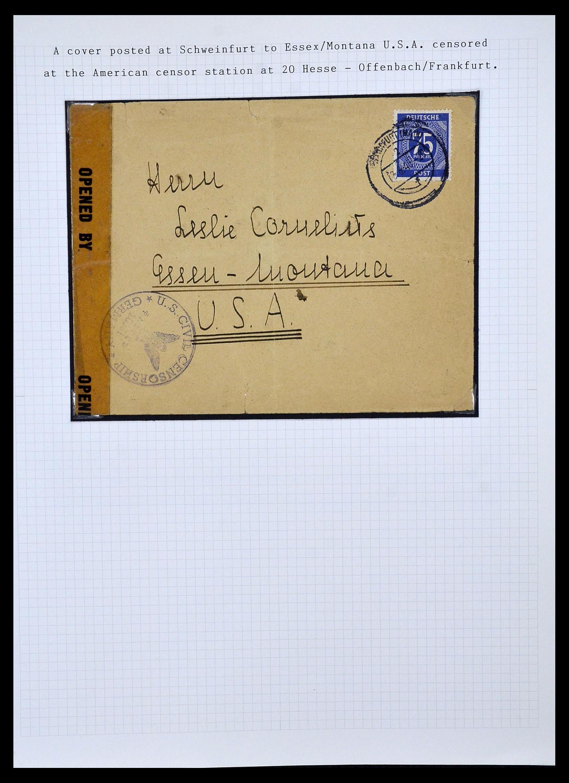 34032 005 - Postzegelverzameling 34032 Duitse Zones 1945-1948.