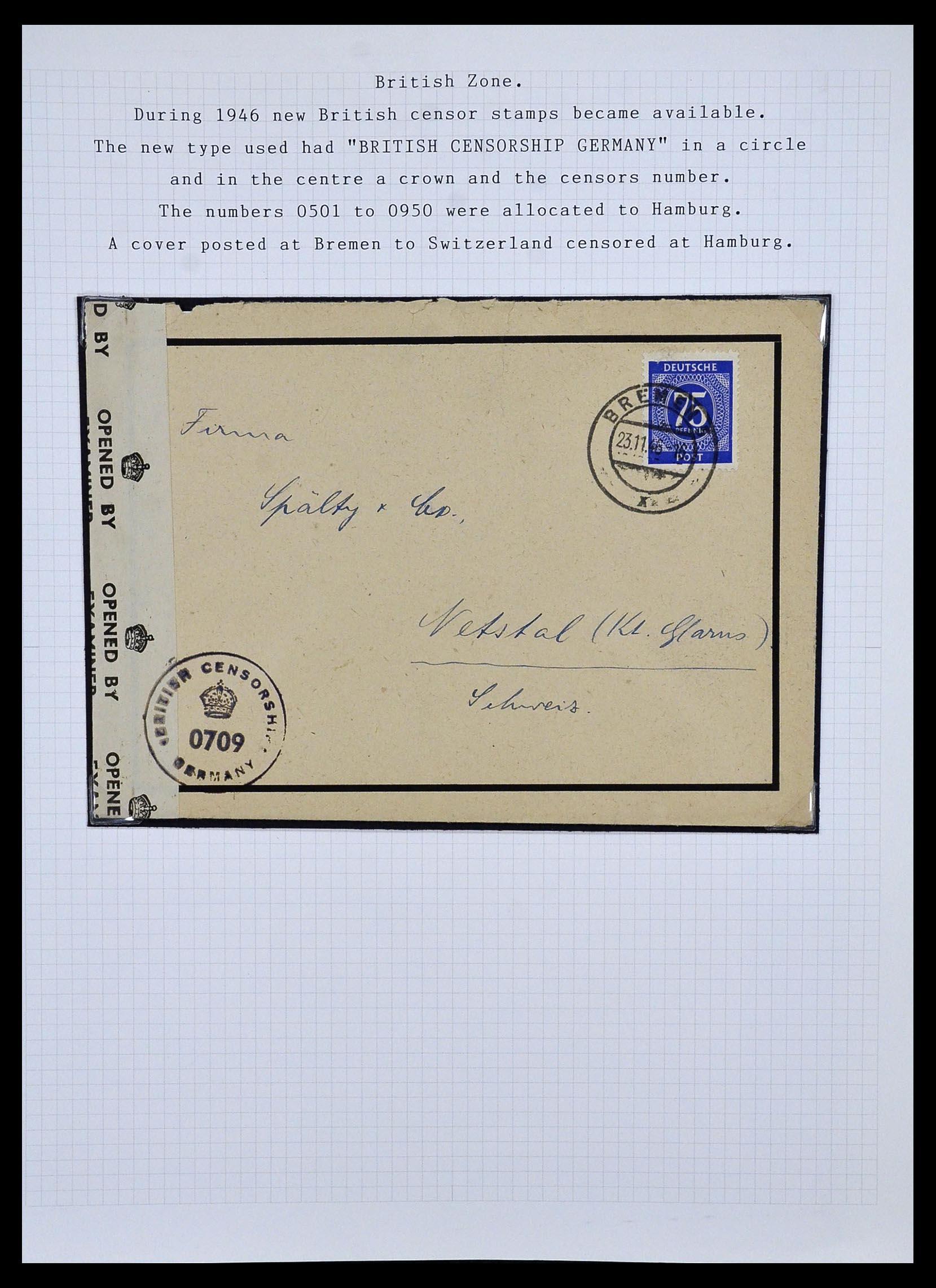 34032 006 - Postzegelverzameling 34032 Duitse Zones 1945-1948.