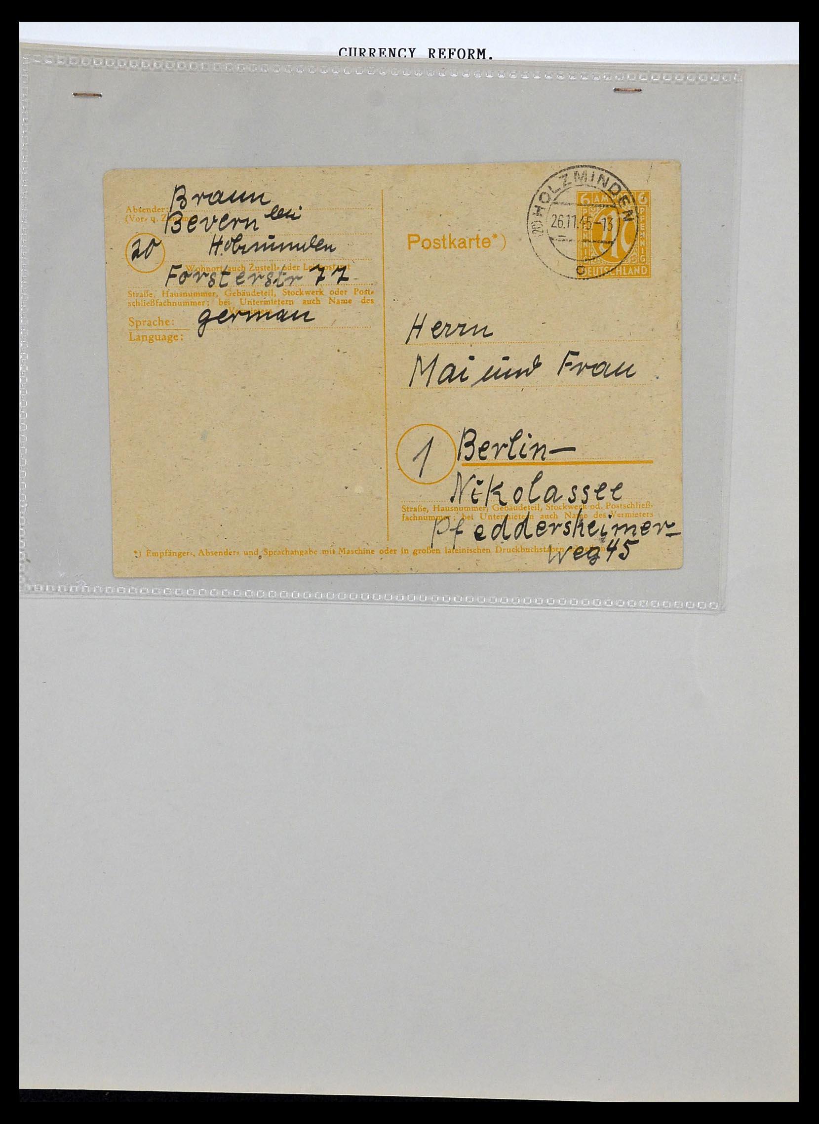 34032 016 - Postzegelverzameling 34032 Duitse Zones 1945-1948.