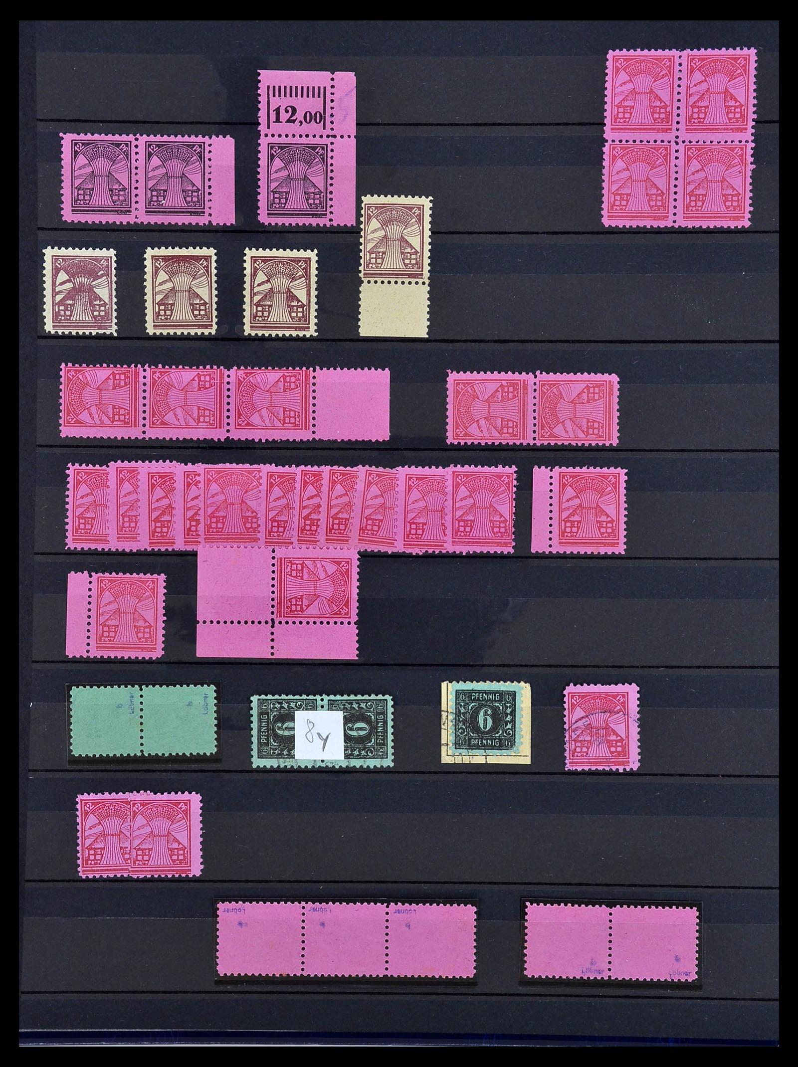 34039 004 - Postzegelverzameling 34039 Mecklenburg-Vorpommern 1945-1946.