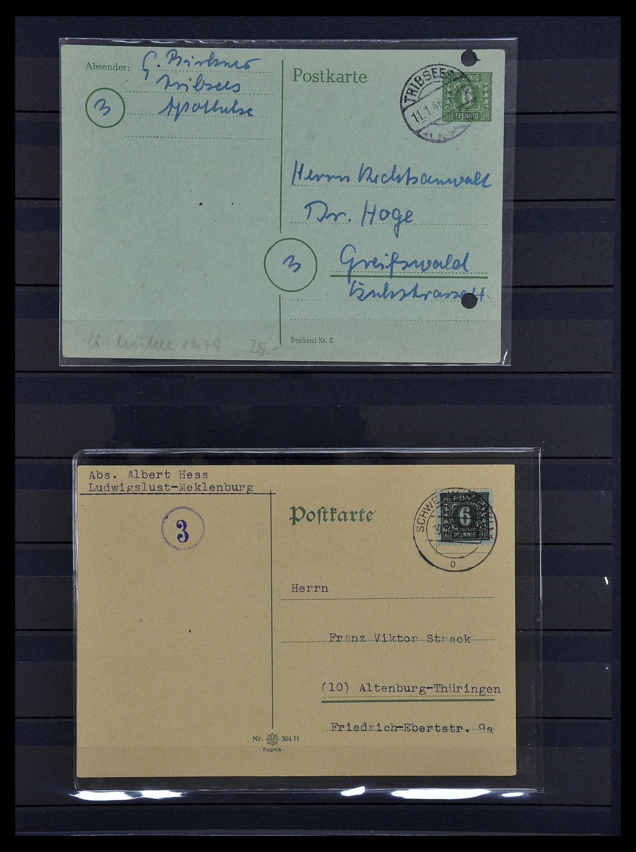 34039 005 - Postzegelverzameling 34039 Mecklenburg-Vorpommern 1945-1946.