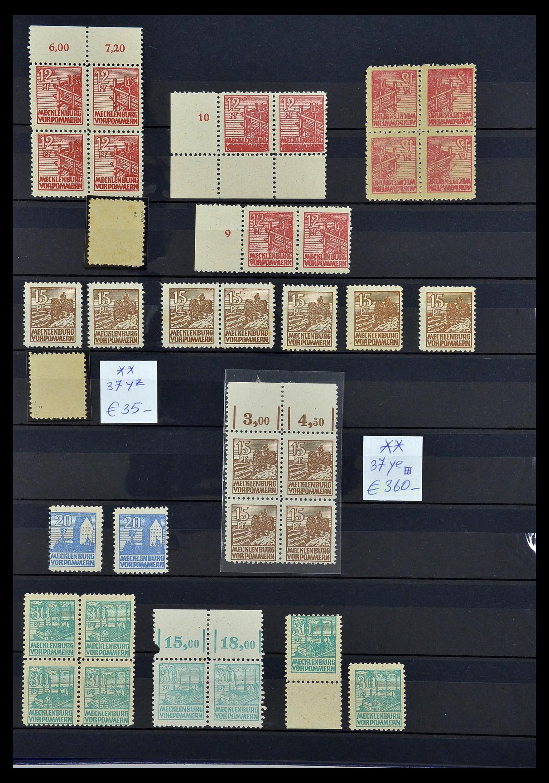 34039 013 - Postzegelverzameling 34039 Mecklenburg-Vorpommern 1945-1946.