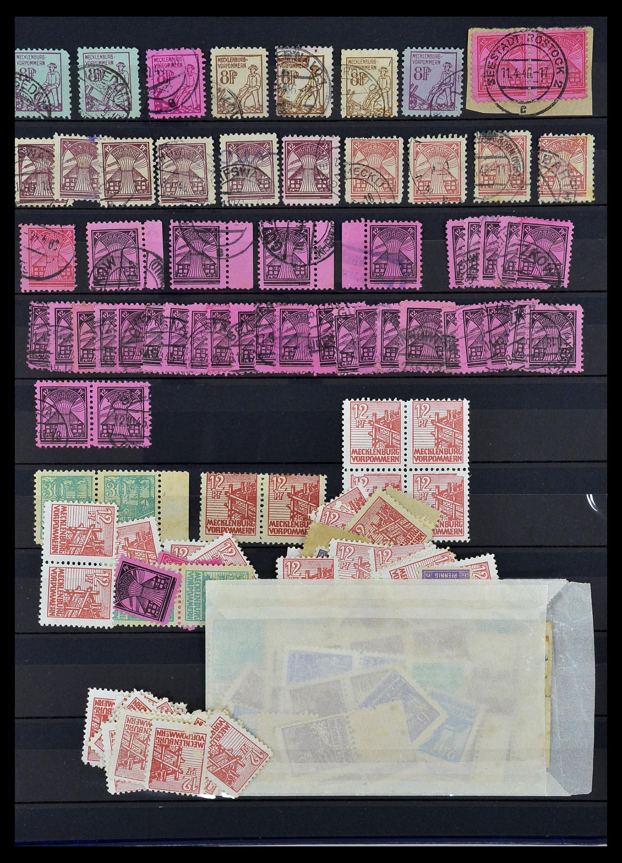 34039 015 - Postzegelverzameling 34039 Mecklenburg-Vorpommern 1945-1946.