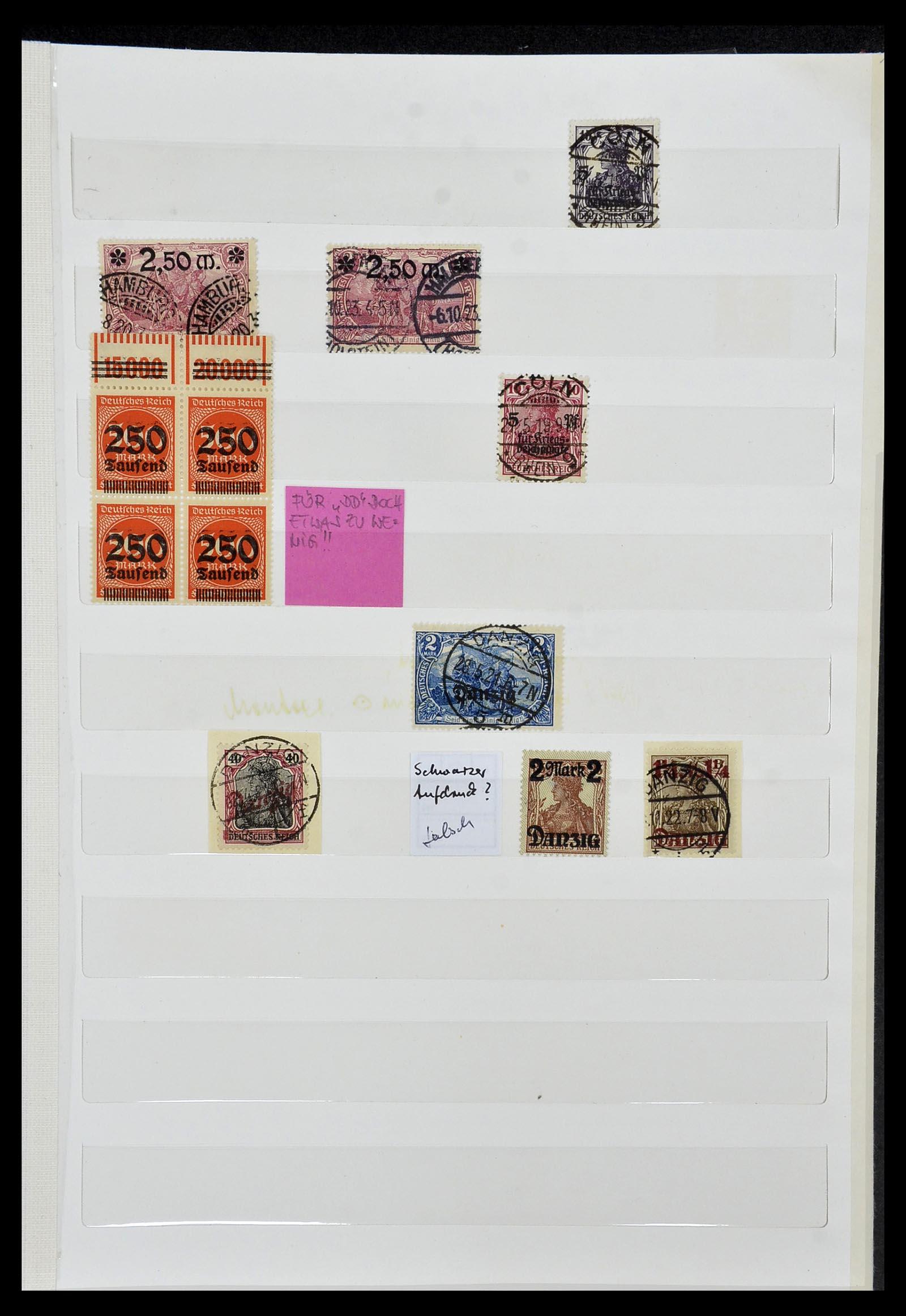 34069 001 - Postzegelverzameling 34069 Duitsland 1855-1952.