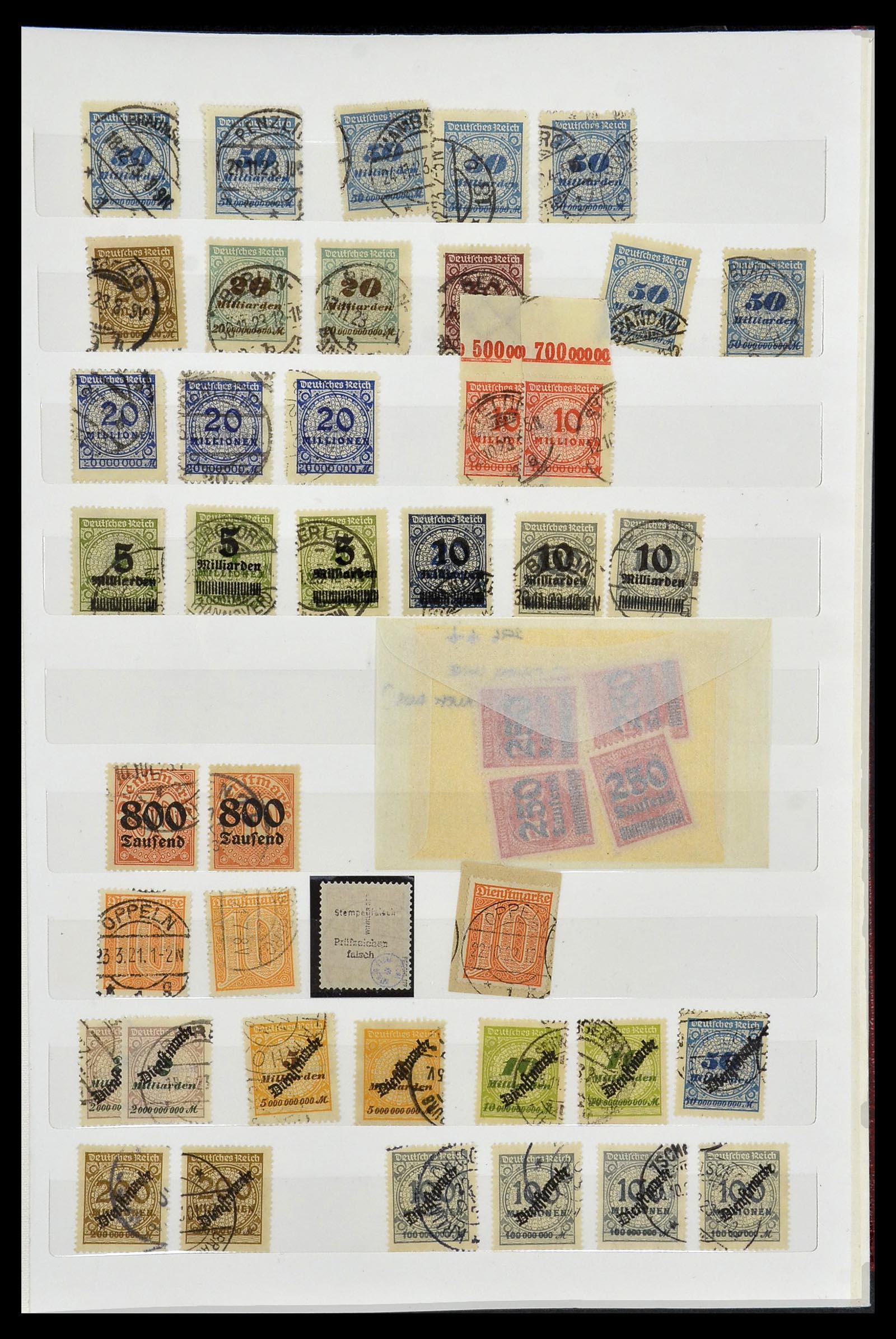 34069 003 - Postzegelverzameling 34069 Duitsland 1855-1952.