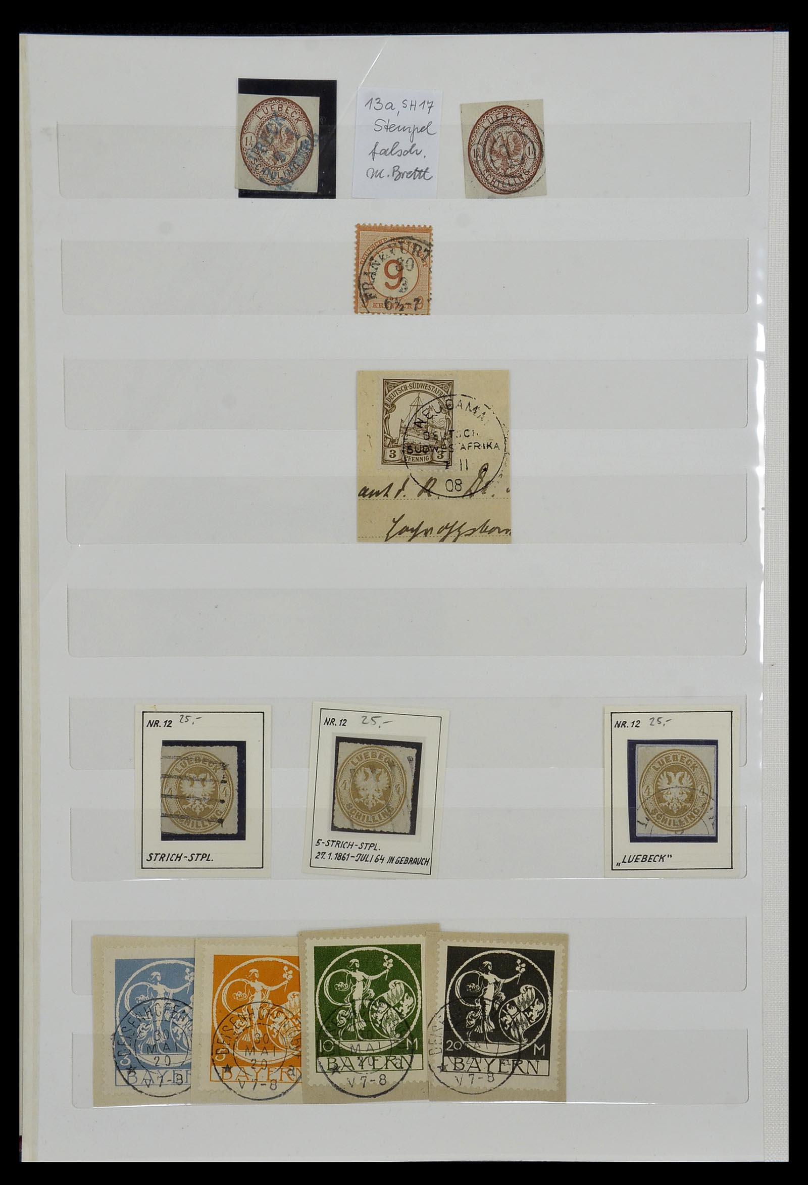 34069 004 - Postzegelverzameling 34069 Duitsland 1855-1952.