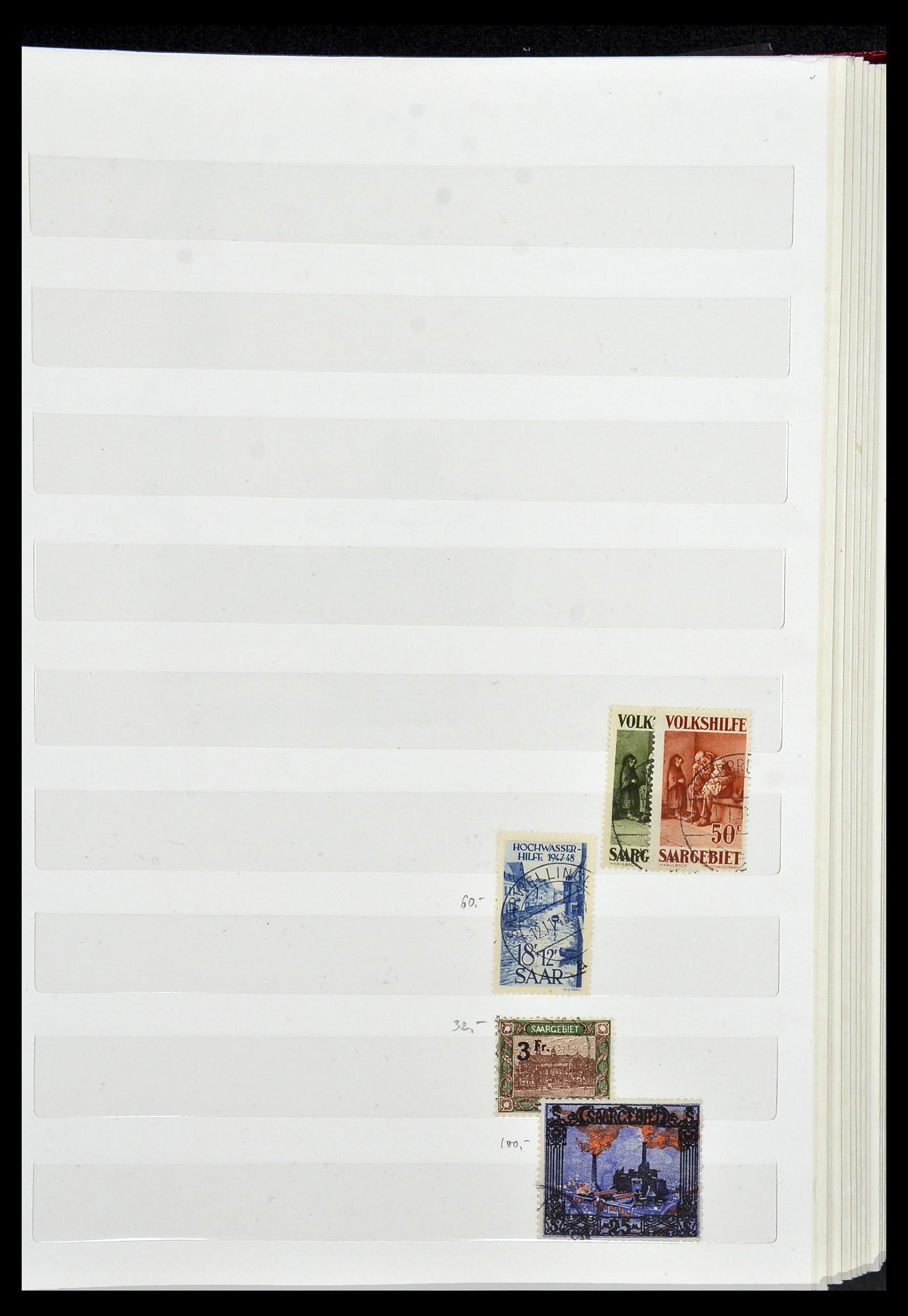 34069 005 - Postzegelverzameling 34069 Duitsland 1855-1952.