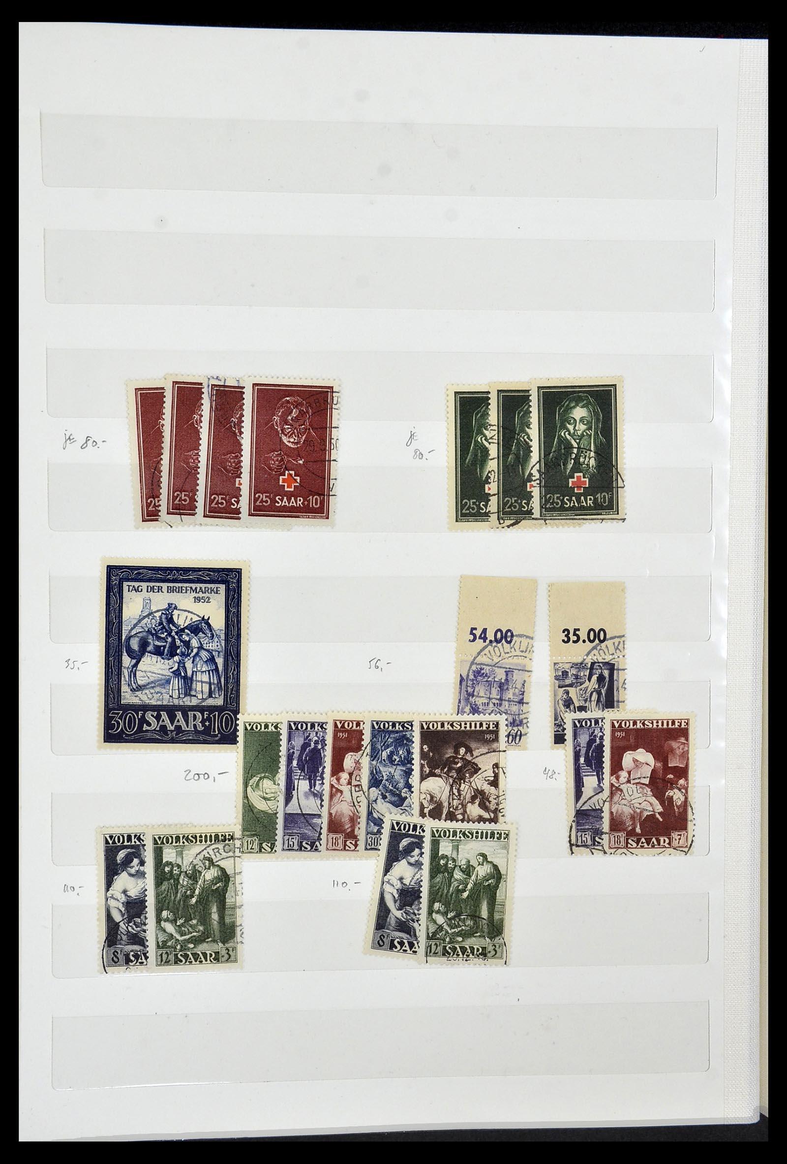 34069 006 - Postzegelverzameling 34069 Duitsland 1855-1952.