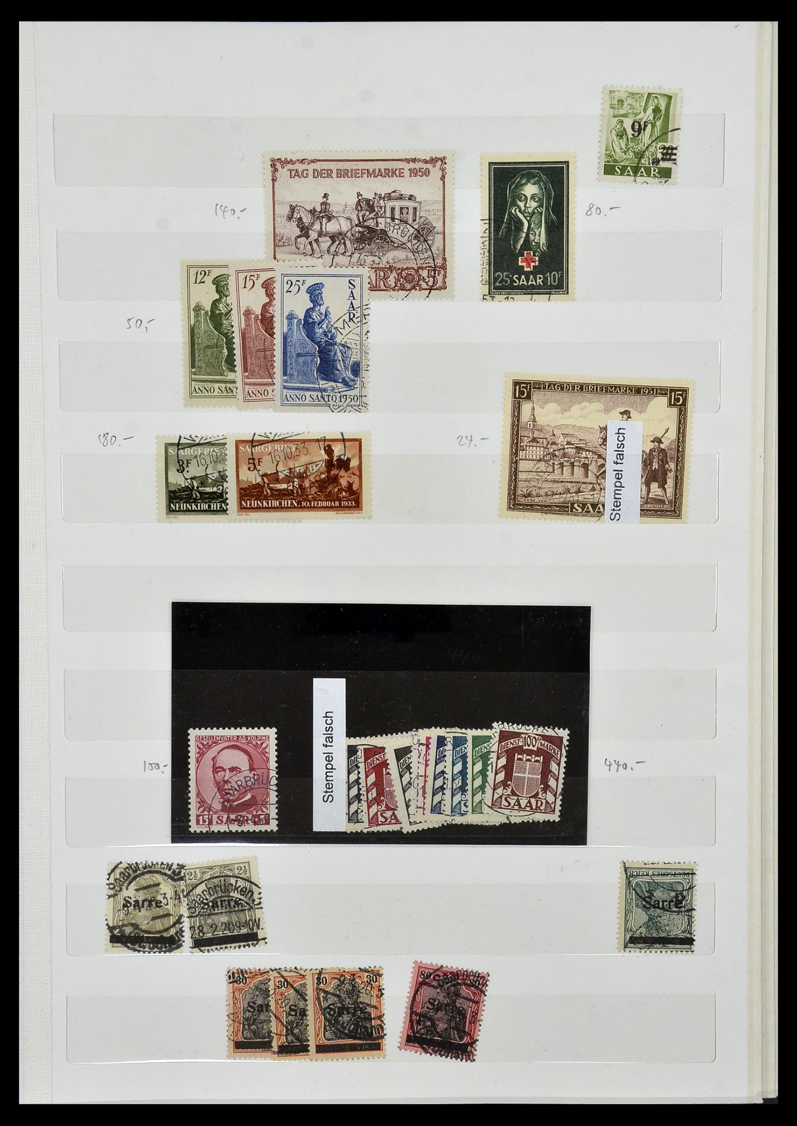 34069 007 - Postzegelverzameling 34069 Duitsland 1855-1952.