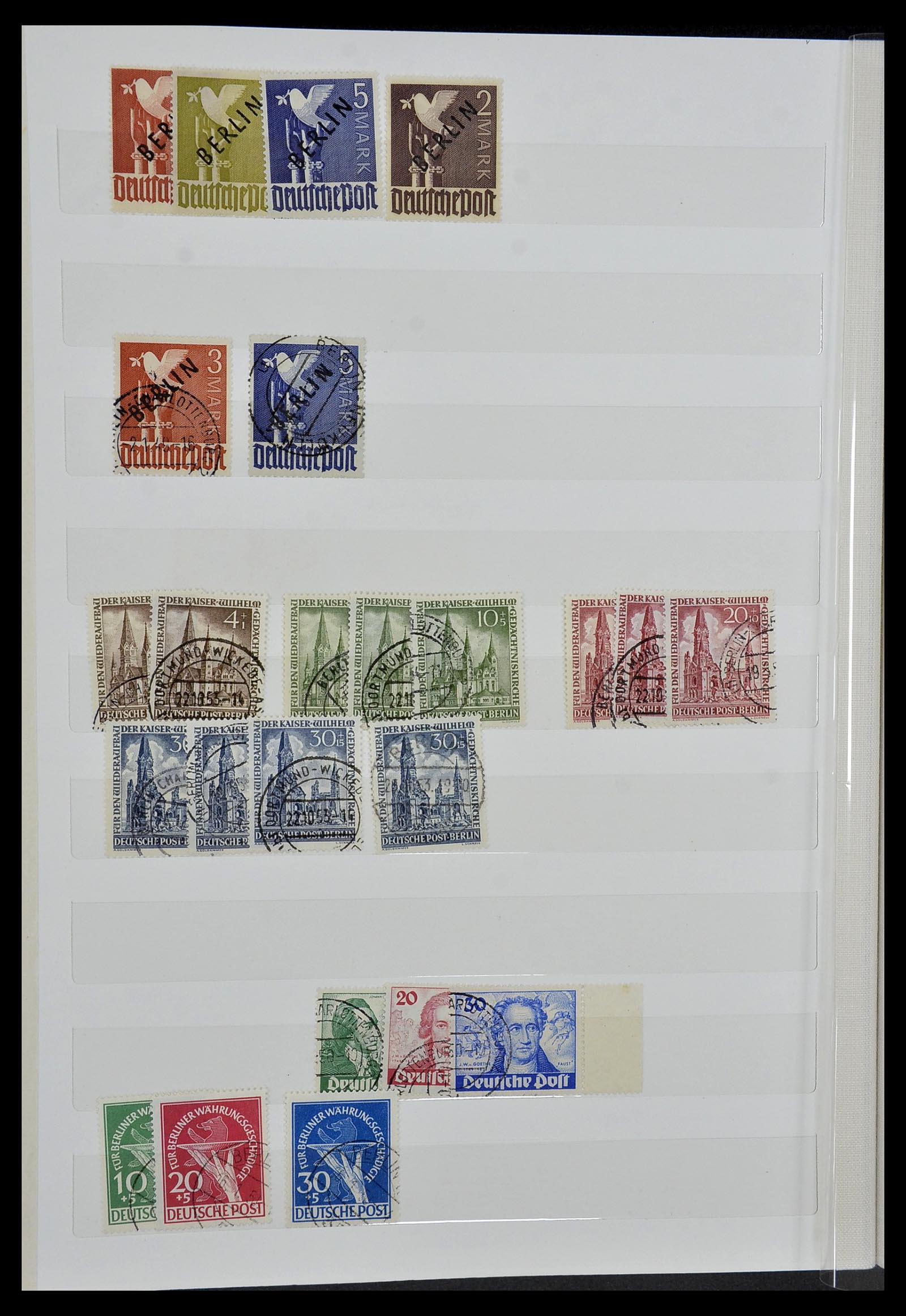 34069 009 - Postzegelverzameling 34069 Duitsland 1855-1952.