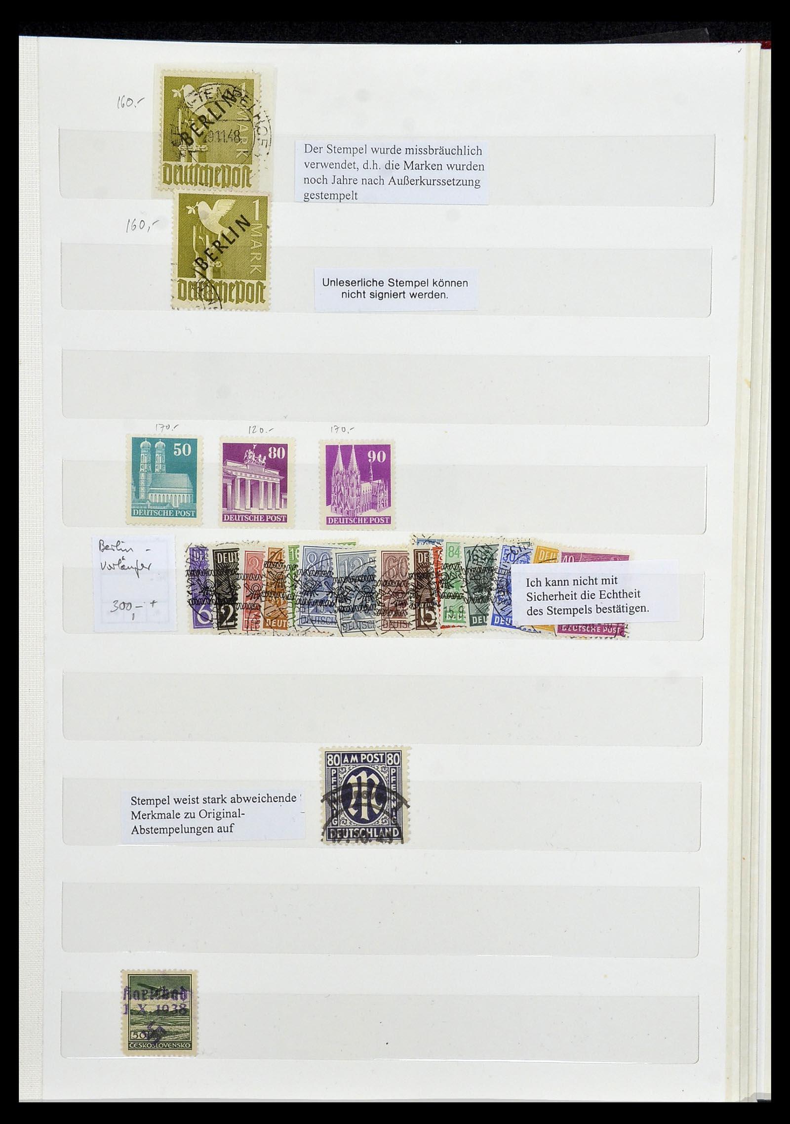 34069 010 - Postzegelverzameling 34069 Duitsland 1855-1952.