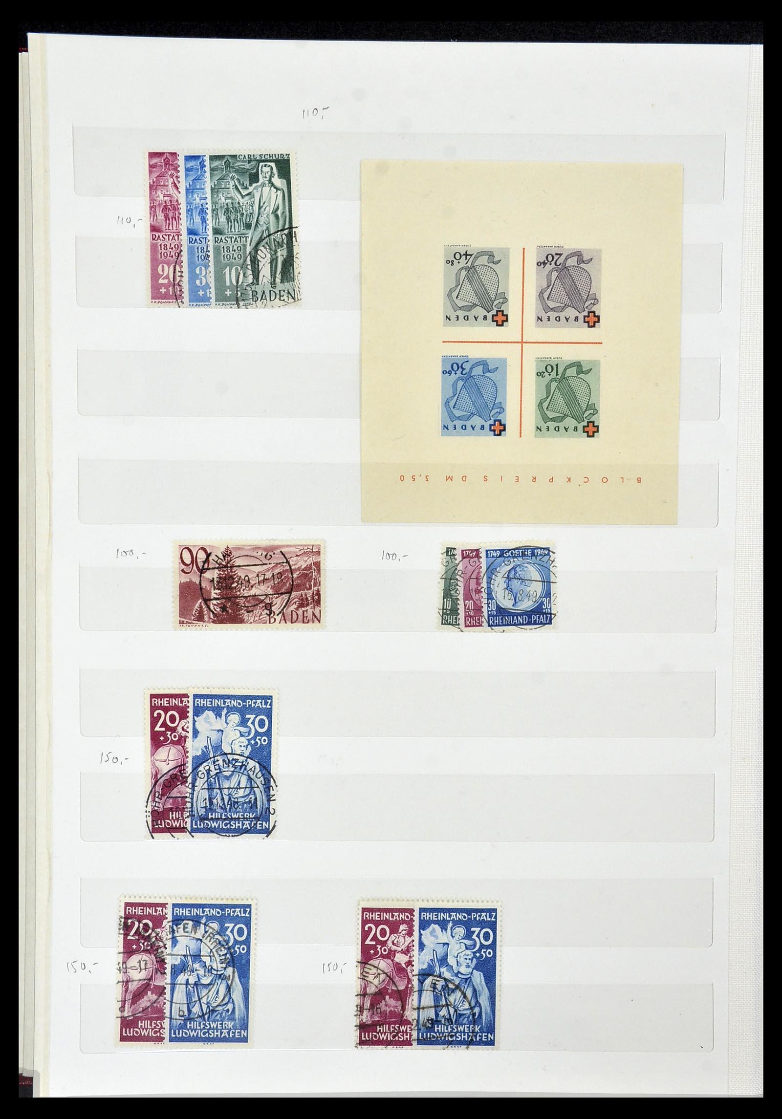 34069 011 - Postzegelverzameling 34069 Duitsland 1855-1952.