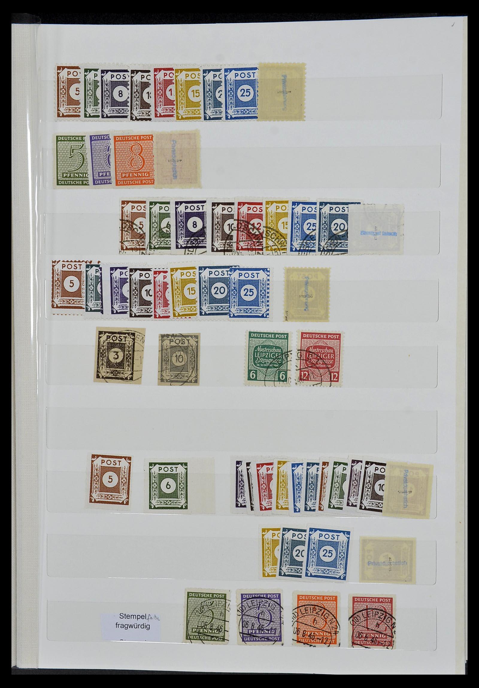 34069 012 - Postzegelverzameling 34069 Duitsland 1855-1952.