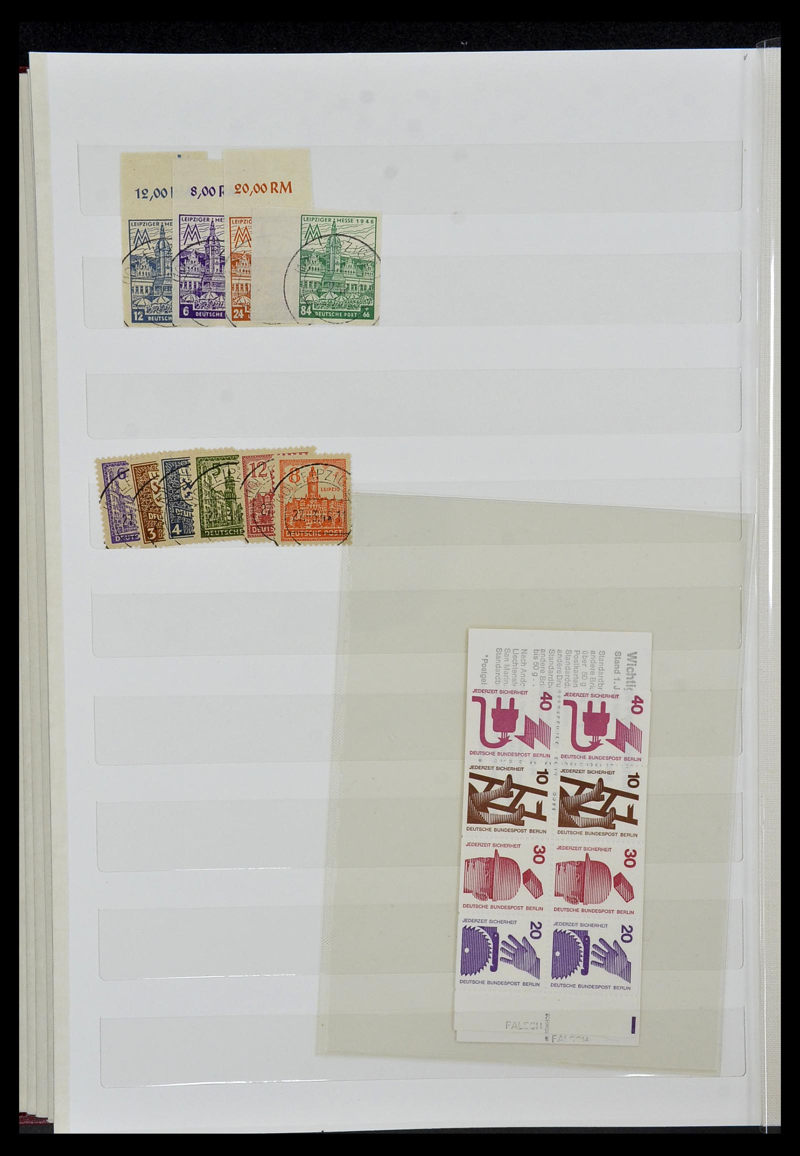 34069 013 - Postzegelverzameling 34069 Duitsland 1855-1952.