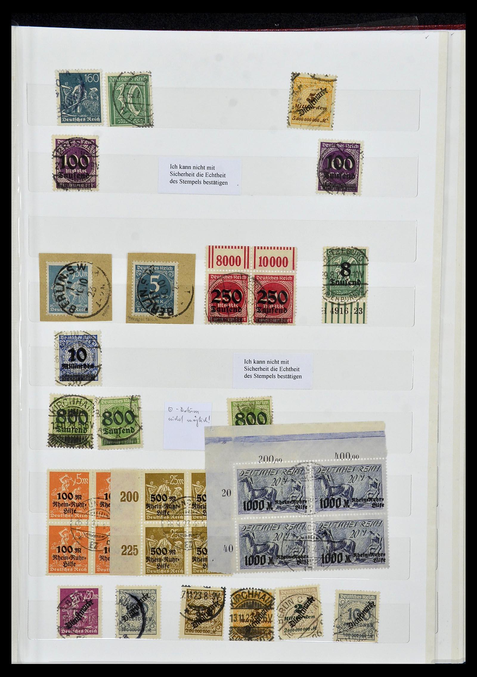 34069 014 - Postzegelverzameling 34069 Duitsland 1855-1952.