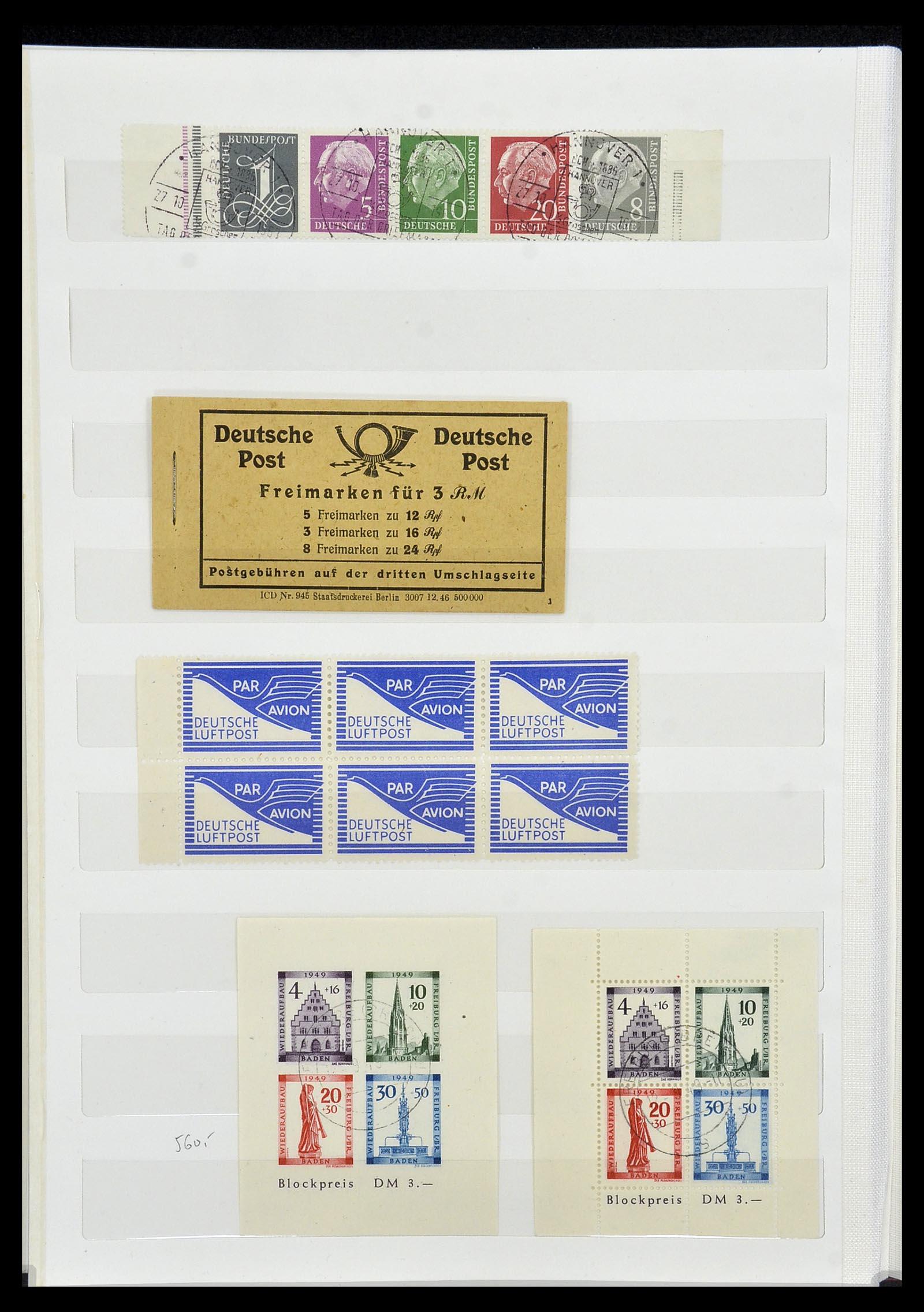 34069 015 - Postzegelverzameling 34069 Duitsland 1855-1952.