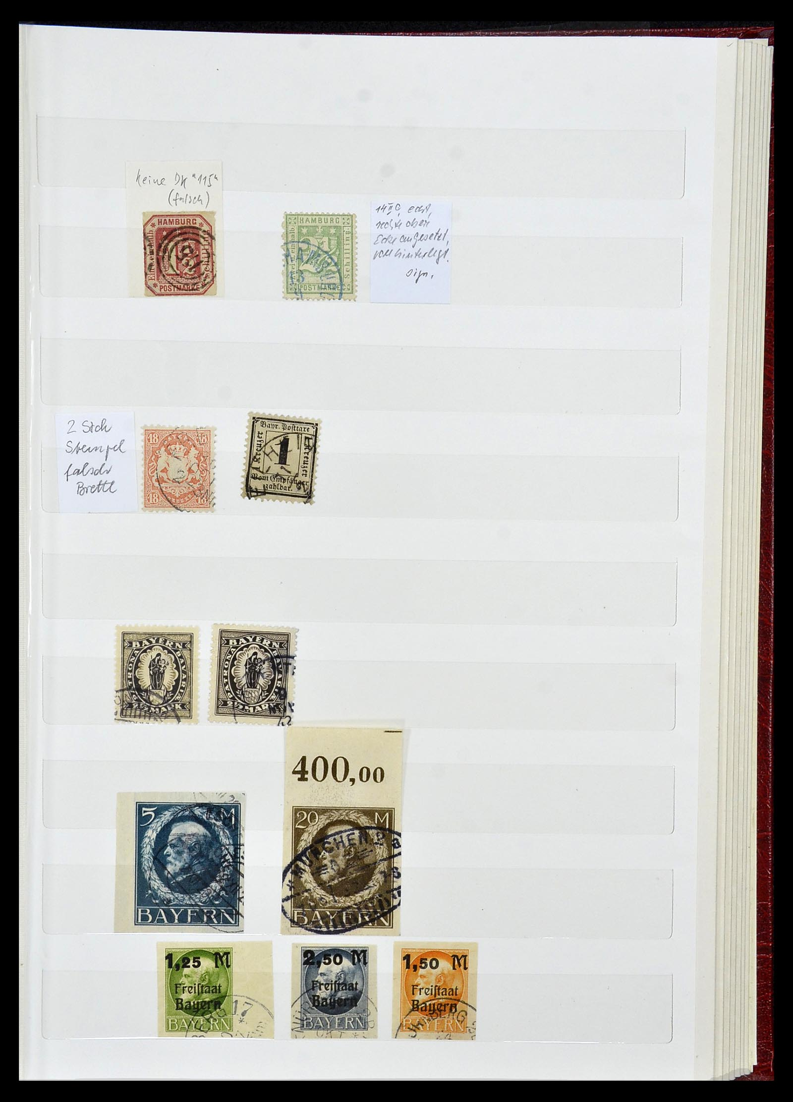 34069 018 - Postzegelverzameling 34069 Duitsland 1855-1952.