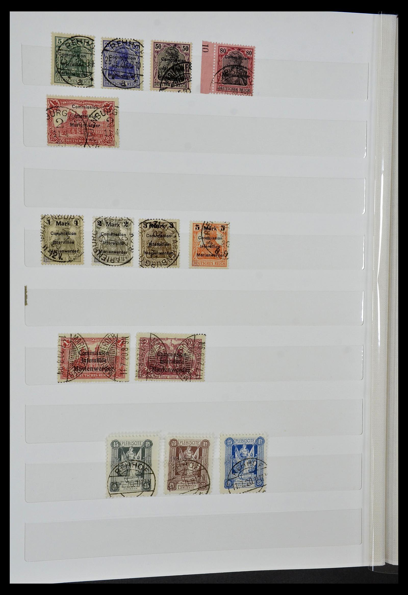 34069 020 - Postzegelverzameling 34069 Duitsland 1855-1952.