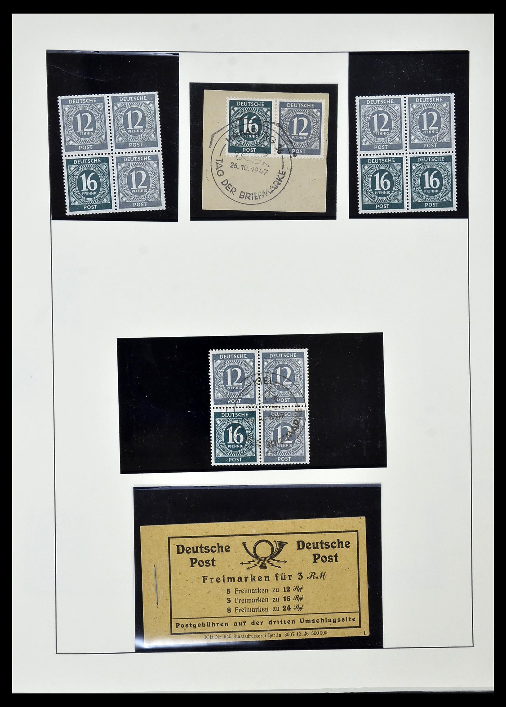 34152 007 - Postzegelverzameling 34152 Duitse Zones 1945-1949.