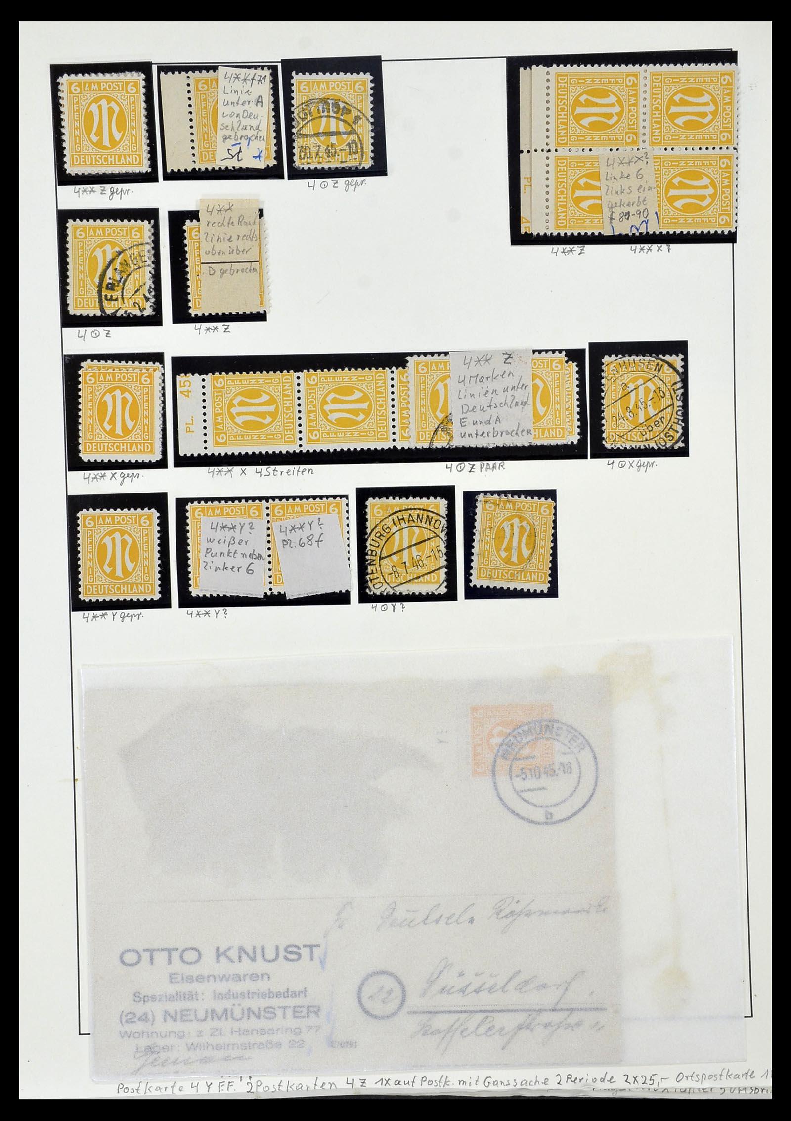 34152 018 - Postzegelverzameling 34152 Duitse Zones 1945-1949.