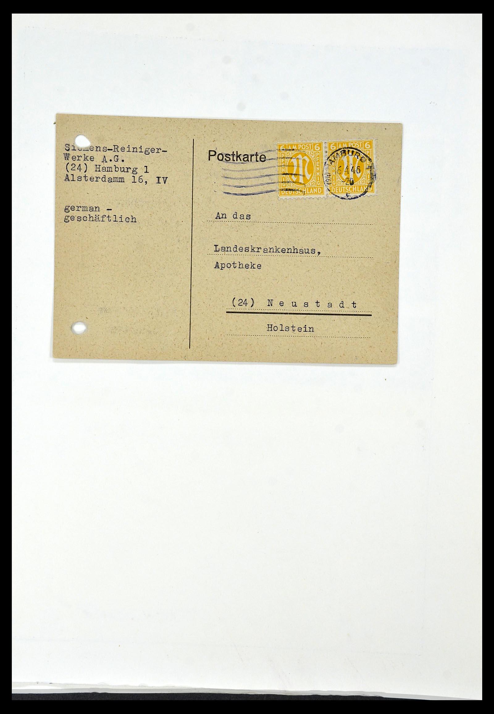 34152 020 - Postzegelverzameling 34152 Duitse Zones 1945-1949.