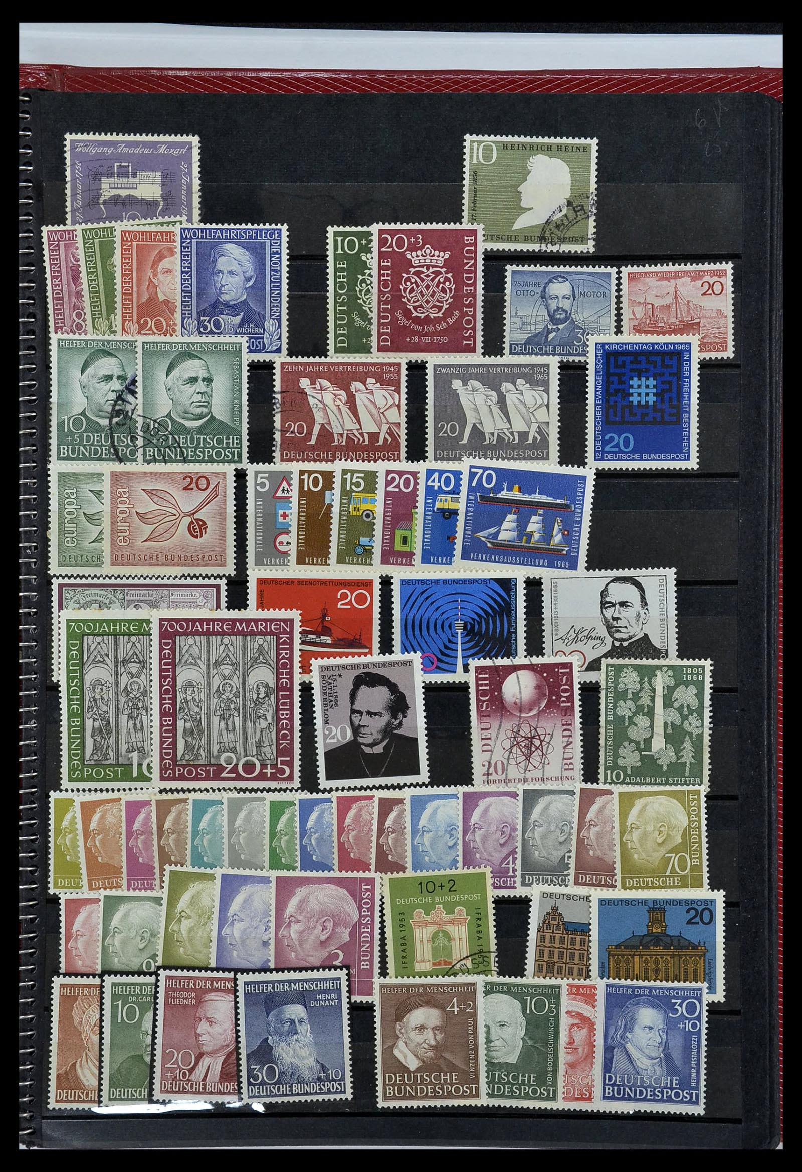 34169 001 - Postzegelverzameling 34169 Duitsland 1880-1955.