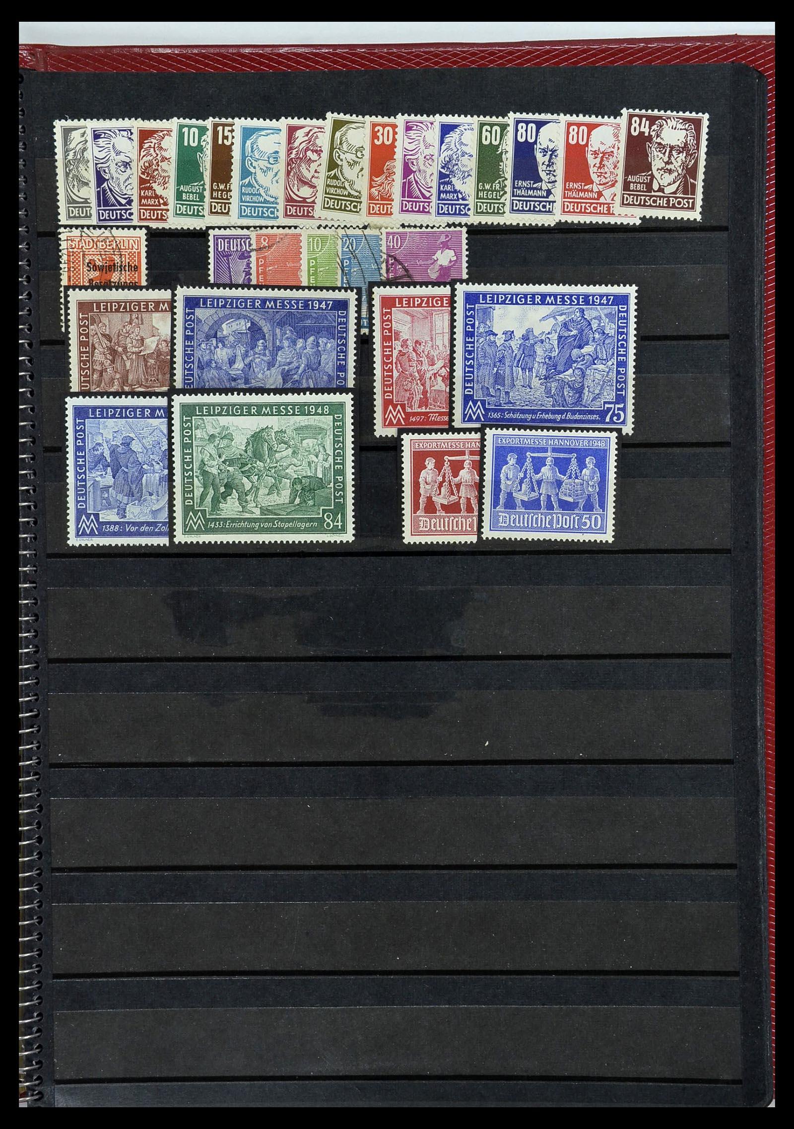 34169 005 - Postzegelverzameling 34169 Duitsland 1880-1955.