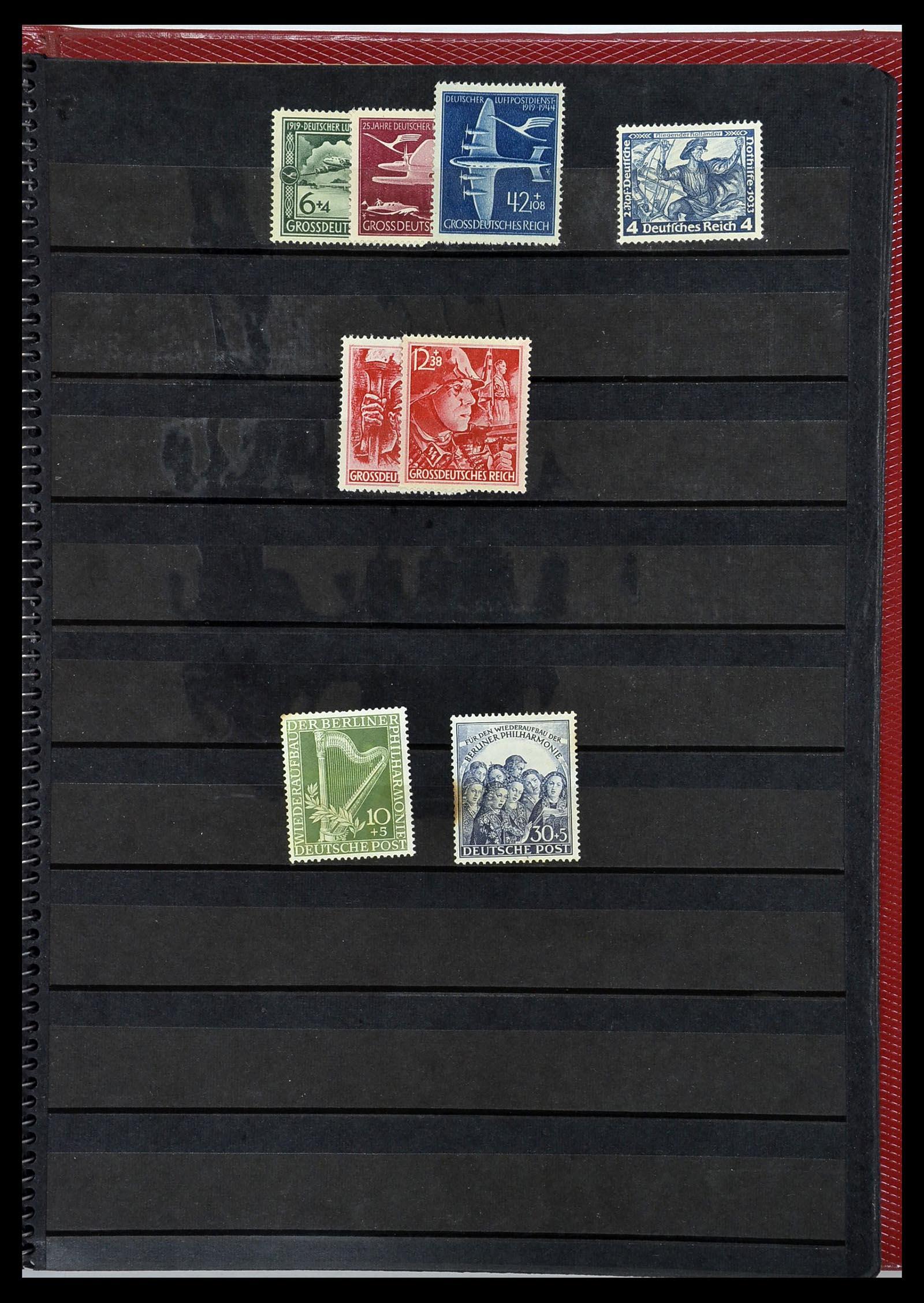 34169 007 - Postzegelverzameling 34169 Duitsland 1880-1955.
