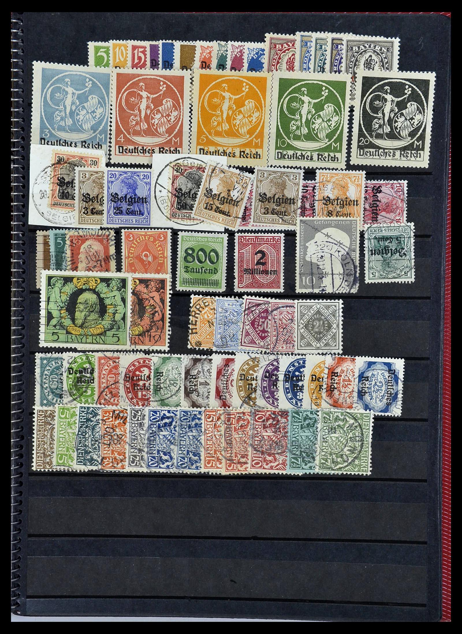 34169 009 - Postzegelverzameling 34169 Duitsland 1880-1955.