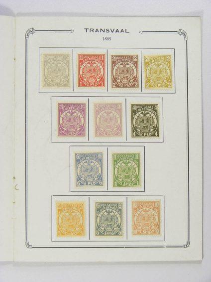 Postzegelverzameling 13055 Transvaal 1923.