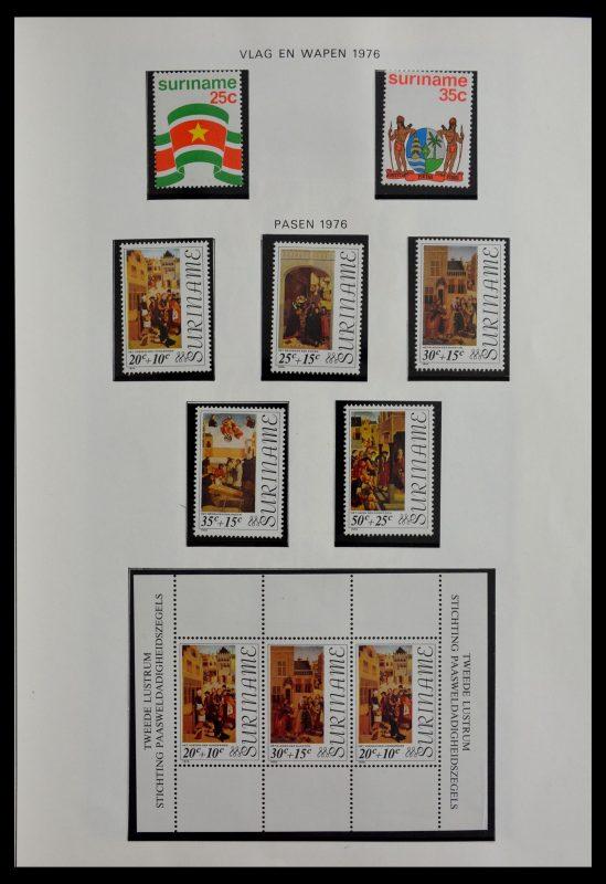 Postzegelverzameling 28941 Republiek Suriname 1975-1996.