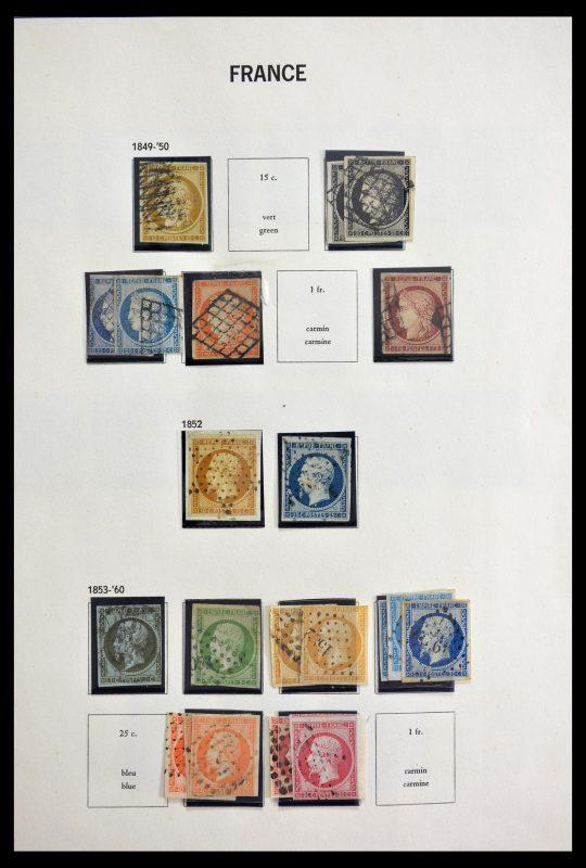 Postzegelverzameling 29105 Frankrijk 1849-1982.