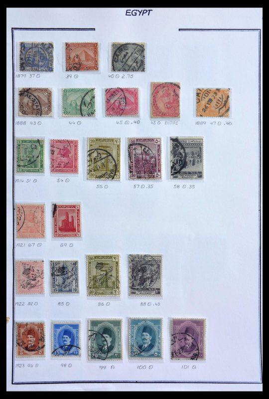 Postzegelverzameling 29224 Egypte 1870-2002.