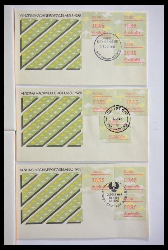 Postzegelverzameling 29353 West Europa automaatzegels.