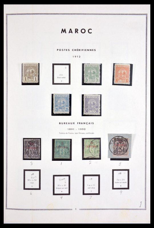 Postzegelverzameling 29942 Marokko 1891-1979.