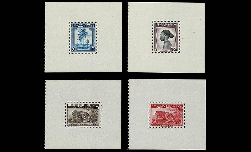 Postzegelverzameling Belgisch Congo 1885-1962