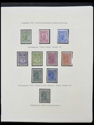 Postzegelverzameling 33138 Liechtenstein 1912-2002.
