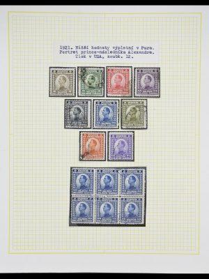 Postzegelverzameling 33188 Joegoslavië 1871-1944.