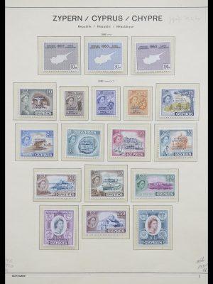 Postzegelverzameling 33204 Cyprus 1960-1992.