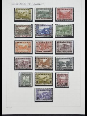 Postzegelverzameling 33206 Joegoslavië 1918-1941.