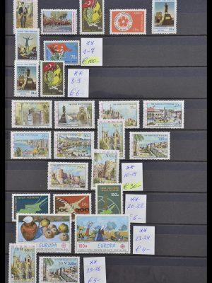Postzegelverzameling 33185 IJsland 1882-1989.