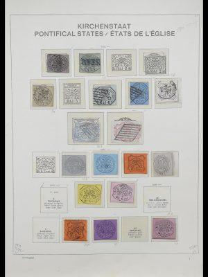 Postzegelverzameling 33231 Vaticaan 1852-1996.