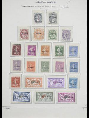 Postzegelverzameling 33240 Andorra 1928-1996.