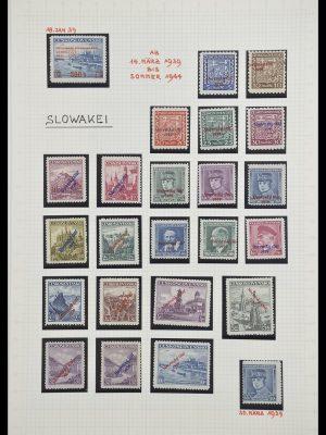 Postzegelverzameling 33254 Slowakije 1939-1945.