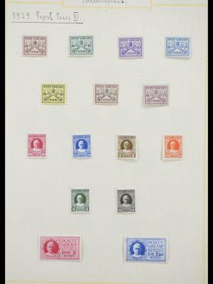 Postzegelverzameling 33256 Vaticaan 1929-1949.